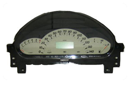 Mercedes Benz A Class W168 LCD Display Pixel Repair (1999-2004)
